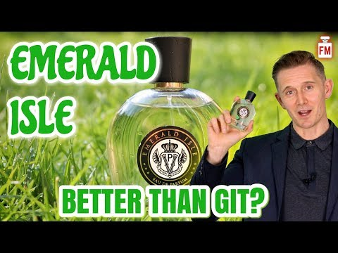 PARFUMS VINTAGE EMERALD ISLE Fragrance Review | Green Irish Tweed Clone