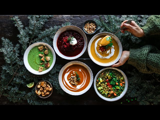 Cozy vegan soups » a hug in a bowl ????