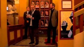 preview picture of video 'Csiky Gergely Színház Kaposvár - Kiállítás megnyitó - Papp Pala László'