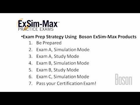 Boson ExSim-Max - How to Prepare for your Certification Exam ...