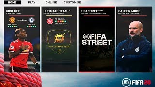 FIFA STREET IN FIFA 20 | FIFA 20 ULTIMATE TEAM FIFA STREET MODE!?