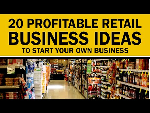 , title : '20 Profitable Retail Business Ideas to Start Your Own Business