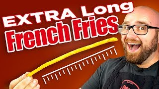 Long French Fries - The Super Long French Fry Japanese Trend - Video Youtube