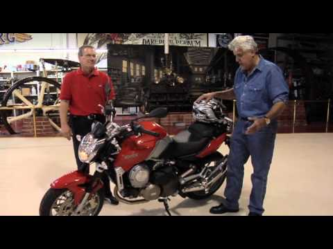 Jay Leno Shows Tests a Aprilia 850 Mana