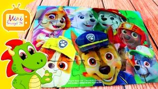 ???? Paw Patrol Psi Patrol Puzzle 3D Dla Dzieci Z Bajki | Gry Zabawki Filmik Dla Dzieci [HD]