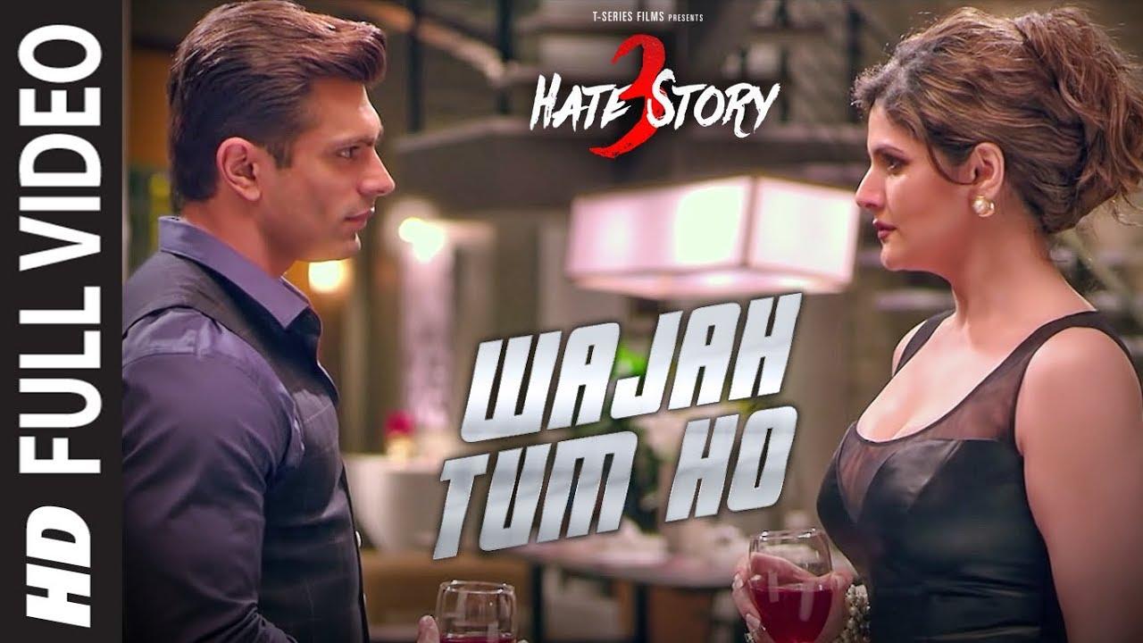 Wajah Tum Ho Lyrics Hindi English Translation - Hate Story 3