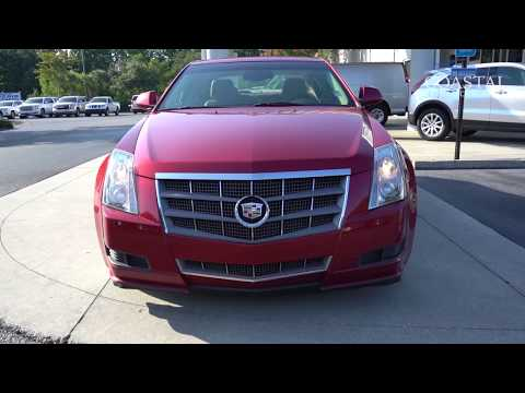 Pre-Owned 2010 Cadillac CTS 4dr Sdn 3.0L Luxury RWD