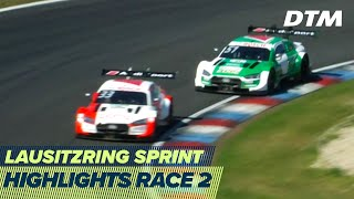 Rast against Müller in photo finish | Highlights Race 2 | DTM Lausitzring Sprint 2020