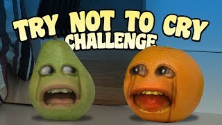 Annoying Orange - Try Not to Cry Challenge