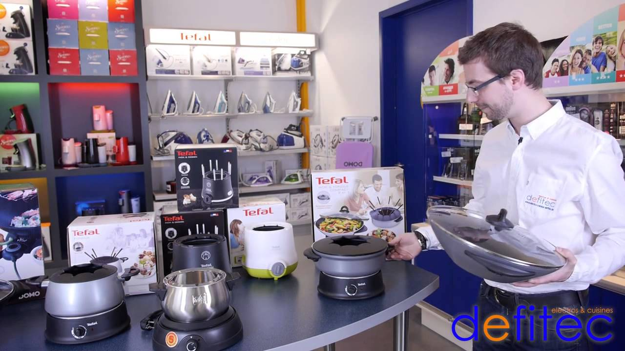 Thomas vous présente les woks et les appareils à fondues électriques - Electros et Cuisines DEFITEC