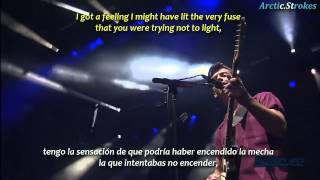 Arctic Monkeys - Knee socks (inglés y español)