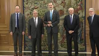 S.M. el Rey se reúne con el secretario general de Naciones Unidas, Antonio Guterres