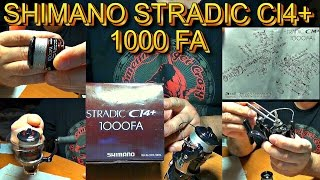 Катушка shimano stradic ci4 1000