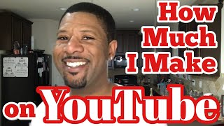How Much I Make On Youtube, How to Become a Full Time Youtuber, First Youtube Check, Monetization