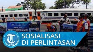 Tingkatkan Keselamatan, Daop 1 Gelar Sosialisasi Selama 2 Hari di 3 Perlintasan