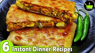 6 Lockdown Recipes  | 6 Easy Dinner Recipes | Indian Dinner Plan | Dinner Ideas | Restaurant Style
