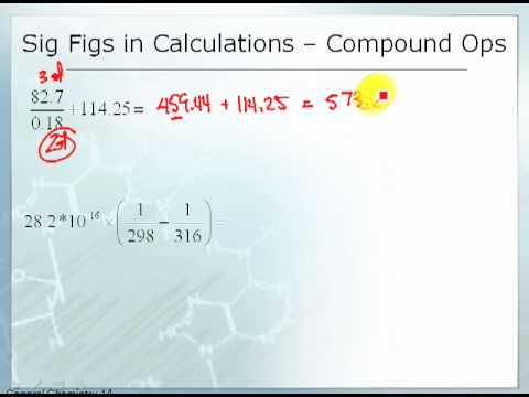 2.4: Significant Figures in Calculations - Chemistry LibreTexts