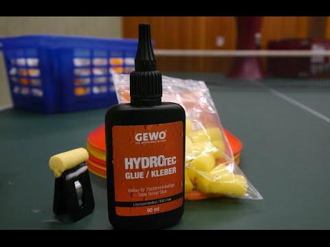 Test/Review Gewo Hydro Tec Kleber - Tischtennis Helden