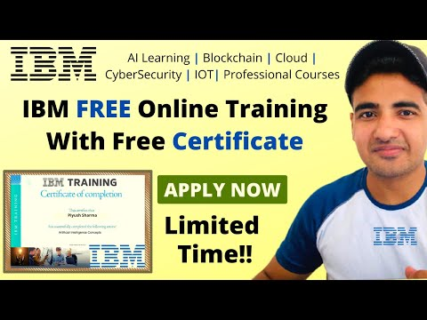 IBM Certified Free Training to Update Skills   IBM Free Online ...
