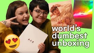 A.C.E 2019 Season's Greetings Unboxing (with my sister!!)