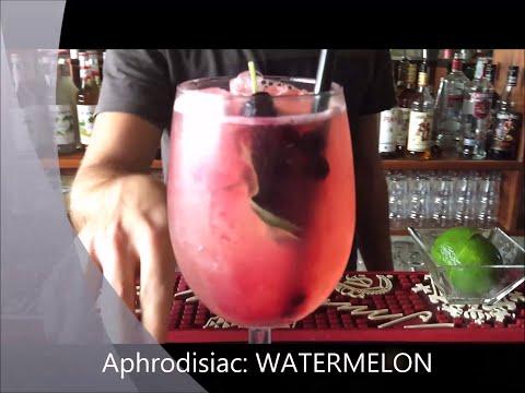 WATERMELON-BASIL COOLER. TI VA UN DRINK A MALTA?!