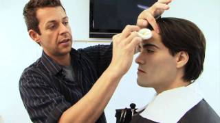 Twilight Makeup Tutorial - Edward Cullen Vampire Make-up Tutorial