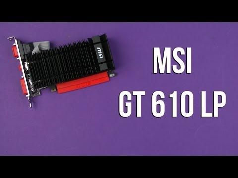 Új ! MSI N610-1GD3H/LPV1 NVIDIA GT 610 1GB videókártya - Vatera.hu Kép