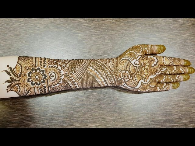 Video New Bridal Henna Design For Front Side Part 1 2018 Heena
