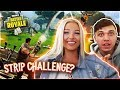 TEACHING  My GIRLFRIEND How To Play FORTNITE: Battle Royale