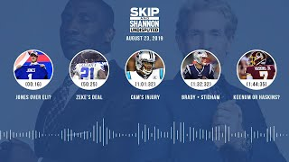UNDISPUTED Audio Podcast (08.23.19) with Skip Bayless, Shannon Sharpe & Jenny Taft | UNDISPUTED