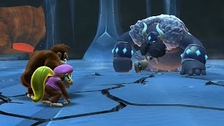 Donkey Kong Country Tropical Freeze - All Bosses