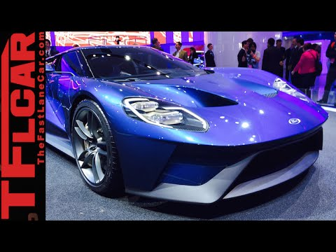2016 Ford GT: Get Up Close and Personal with the New & Stunning Sports Car