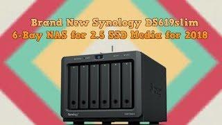 Synology DiskStation NAS DS620slim 6-Bay 2 5