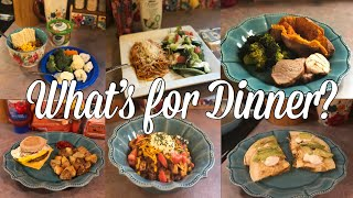 What's for Dinner?| Family Meal Ideas| January 7-13, 2019