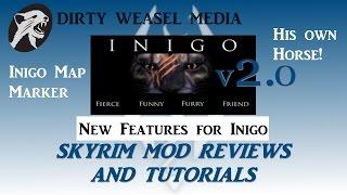 Inigo v2.0 Update - New features: Map Marker, Inigo's Horse.