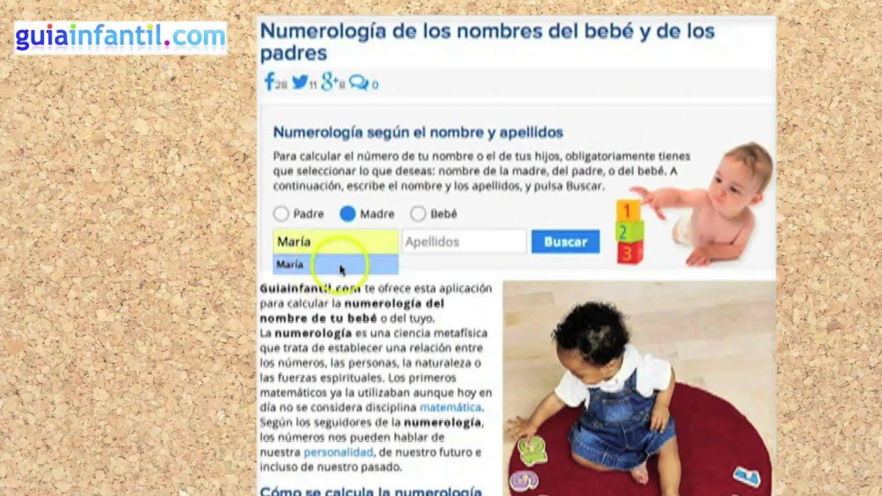 Numerología para padres y bebés - Conoce tu número personal y sus características