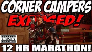 CORNER CAMPERS EXPOSED MARATHON! 😂 Black Ops 3 & 4 Funny Call of Duty Satire