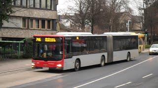 preview picture of video '[Sound] Bus MAN NG 323 (Wagennr. 8336) der Rheinbahn AG Düsseldorf'