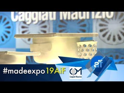 Canalina per terrazzo modulare in acciaio inox Apollo - CAGGIATI MAURIZIO SRL