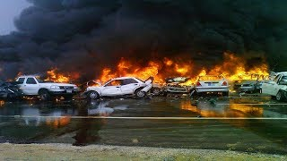 CAR CRASHES IN AMERICA. BAD DRIVERS USA AND CANADA | Crazy Drivers Car Crashes #91