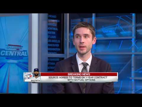 Tabler: Bautista brings veteran leadership to Blue Jays