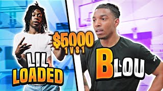 RIP LIL LOADED 1v1 Basketball Game For $5,000 (LOSER CUTS DREADS) !!!