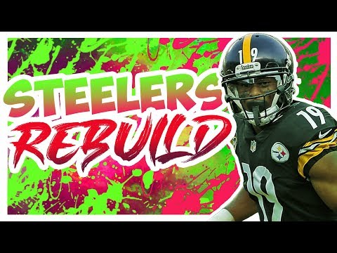Rebuilding The Pittsburgh Steelers - Madden 20 Connected Franchise Realistic Rebuild