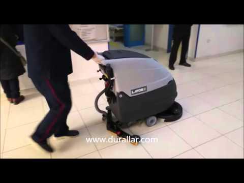 Hastane Zemin Yıkama ve Temizlik Makinası, Akülü Yer Temizleme Makinası