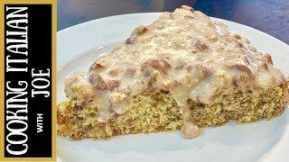 Almond Cake with Orange Sugar Glaze Cooking Italian with Joe