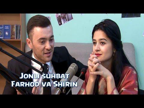 Jonli suhbat - Farhod va Shirin | Жонли сухбат - Фарход ва Ширин
