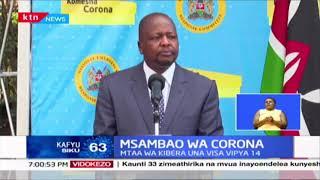 Msambao wa Korona: Visa Vipya 123 vya Korona vyaripotiwa leo nchini, Nairobi imedhibitisha Visa 85