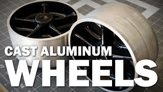 Casting Aluminum Wheels   Old Timey Casters - Video Youtube