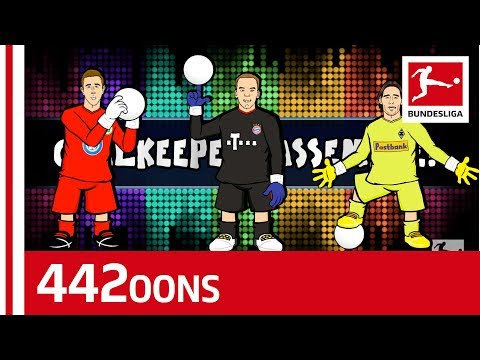 Who Can Beat Neuer? - The Goalkeeper World Cup Bundesliga Dream Team Rap Battle - Powered by 442oons