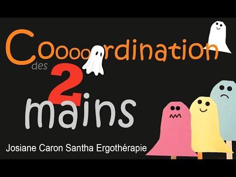 Un bricolage d'Halloween pour travailler la coordination des deux mains